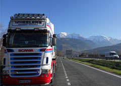 Trucks on tour