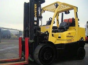 Wheelers fork lift truck hire