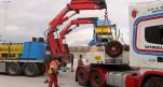 Our cranes performing a tandem lift